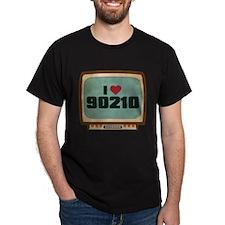 Retro I Heart 90210 T-Shirt