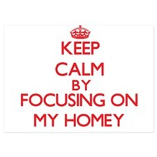 Keep Calm by focusing on My Homey Invitations