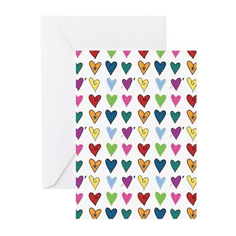 Heart Explosion Greeting Cards (Pk of 10)