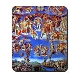 Fresco of the Last Judgement Mousepad