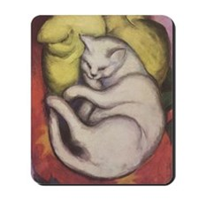 Franz Marc Kitten Mousepad