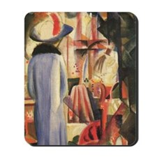 August Macke Shop Window Mousepad
