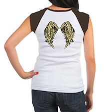 Gold Angel Wings Tee