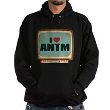 Retro I Heart ANTM Dark Hoodie