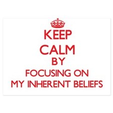 Keep Calm by focusing on My Inherent B Invitations