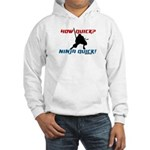 How Quick? Ninja Quick! Martial art hoodie