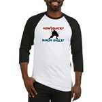 How Quick? Ninja Quick! Martial art baseball shirt