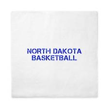 NORTH DAKOTA basketball-cap blue Queen Duvet