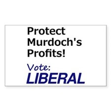 Vote Liberal Decal