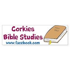 Corkies Bible Studies Bumper Bumper Sticker