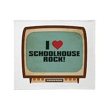 Retro I Heart Schoolhouse Rock! Stadium Blanket