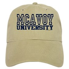 MCAVOY University Baseball Cap
