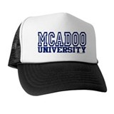 MCADOO University Trucker Hat