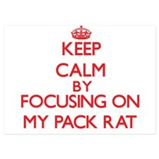 Keep Calm by focusing on My Pack Rat Invitations