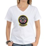 Utah Corrections Women's V-Neck T-Shirt