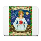 Lady Capricorn Mousepad