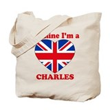 Charles, Valentine's Day Tote Bag
