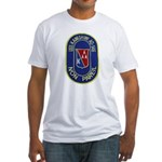 USS KAWISHIWI Fitted T-Shirt