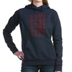Be ready to go about with thi Women's Raglan Hoodi