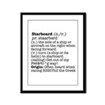 Display the Rule in this Framed Panel Print