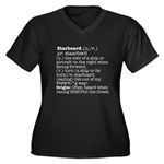 Display the Rule in this Women's Plus Size V-Neck