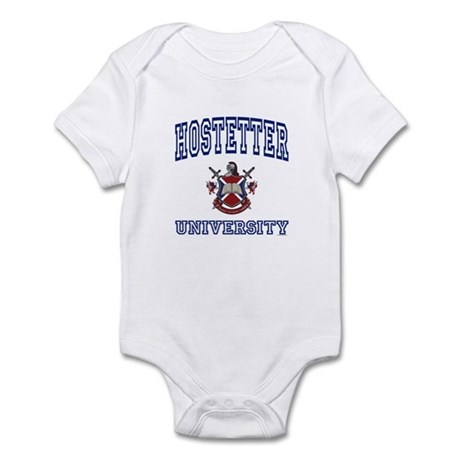 HOSTETTER University Infant Bodysuit