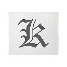 K-oet gray Throw Blanket
