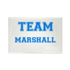 TEAM MARSHALL Rectangle Magnet