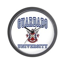 GUARDADO University Wall Clock