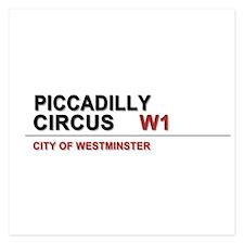 Piccadilly London UK Invitations