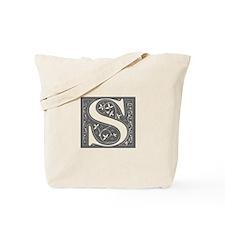 S-fle gray Tote Bag