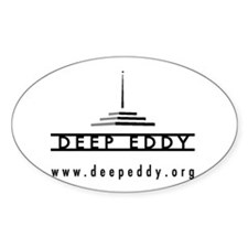 Deep Eddy Oval Decal