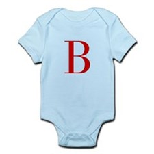 B-bod red2 Body Suit