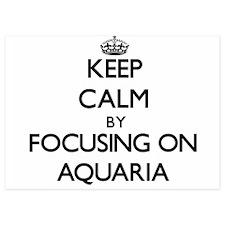 Keep Calm by focusing on Aquaria Invitations