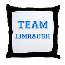 TEAM LIMBAUGH Throw Pillow