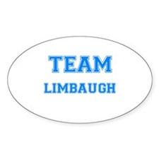 TEAM LIMBAUGH Oval Decal