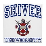 SHIVER University Tile Coaster