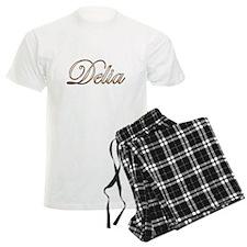 Gold Delia Pajamas