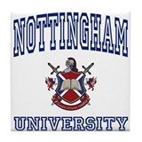 NOTTINGHAM University Tile Coaster