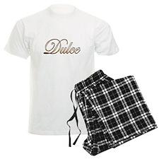 Gold Dulce Pajamas