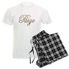 Gold Paige pajamas