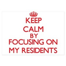 Keep Calm by focusing on My Residents Invitations