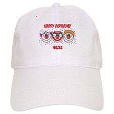 Happy Birthday HAZEL (clowns) Baseball Cap