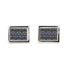 William Morris Strawberry Th Rectangular Cufflinks
