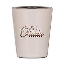Gold Paula Shot Glass
