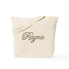 Gold Rayna Tote Bag