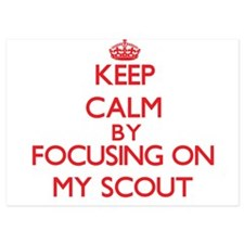 Keep Calm by focusing on My Scout Invitations