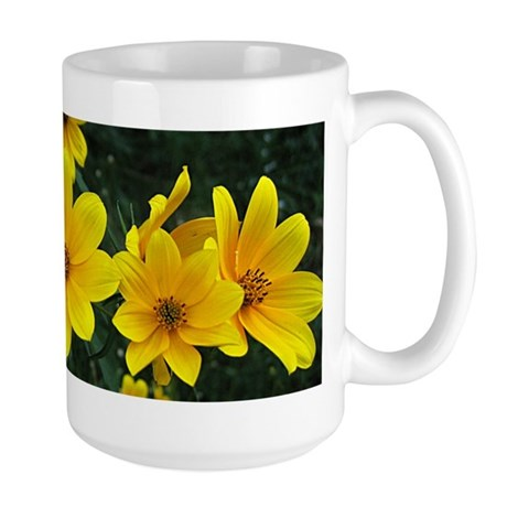 Tickseed Sunflower Large Mug