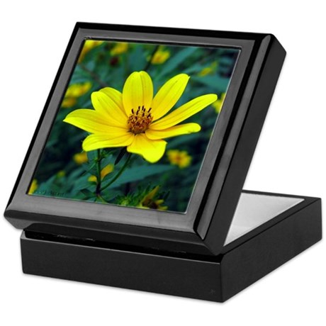 Tickseed Sunflower Keepsake Box