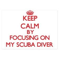 Keep Calm by focusing on My Scuba Dive Invitations